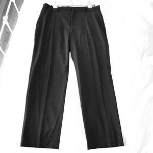 Black Calvin Klein Light Pinstripe Pants 30x33